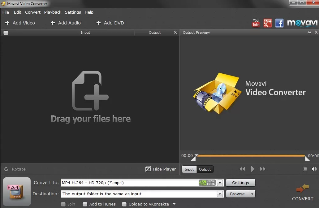 Movavi Video Converter windows