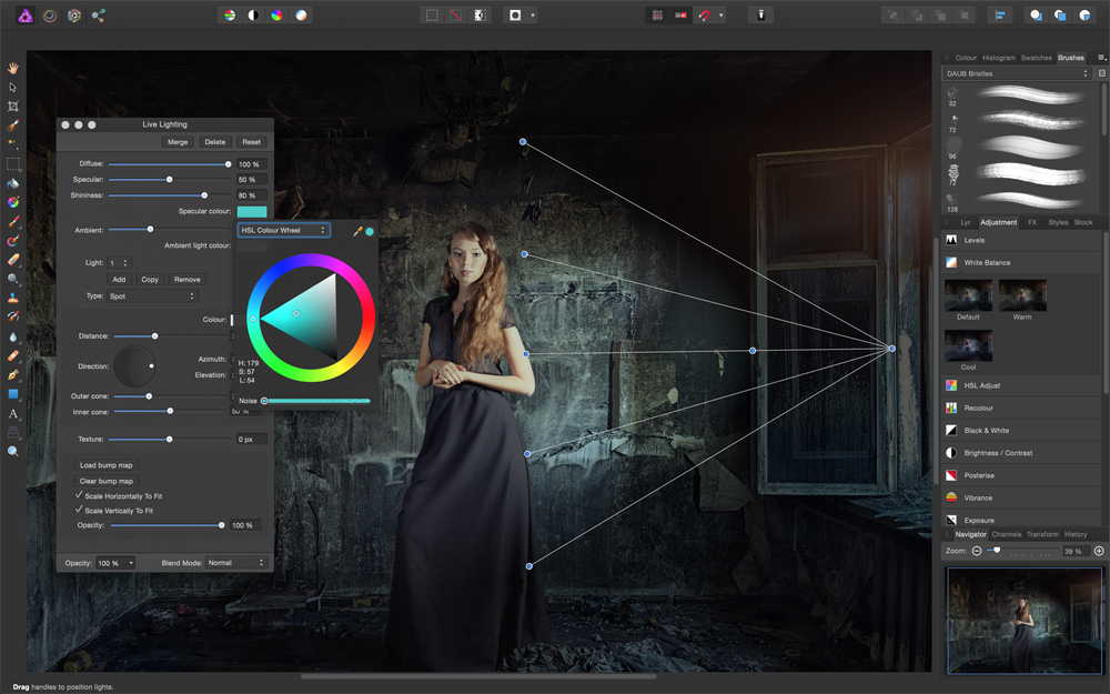 Serif Affinity Photo windows