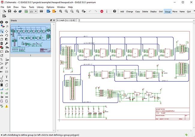 Autodesk EAGLE Premium windows