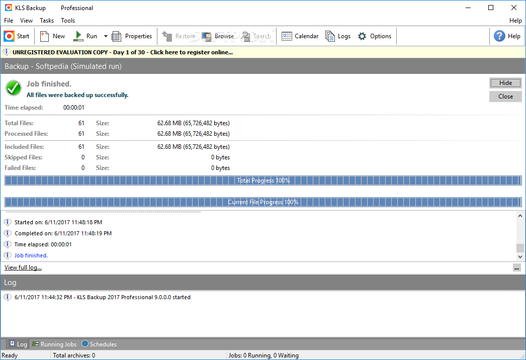 KLS Backup Professional windows