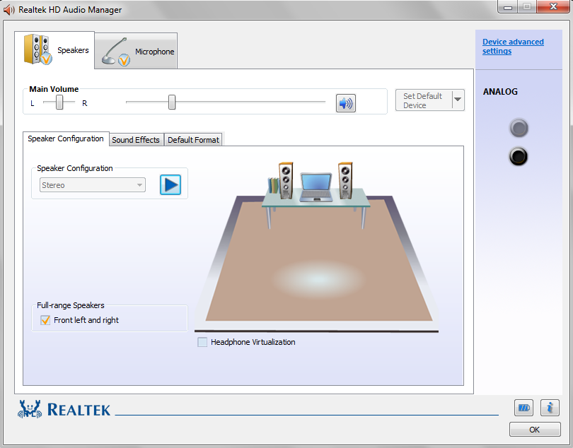 Realtek High Definition Audio Drivers windows