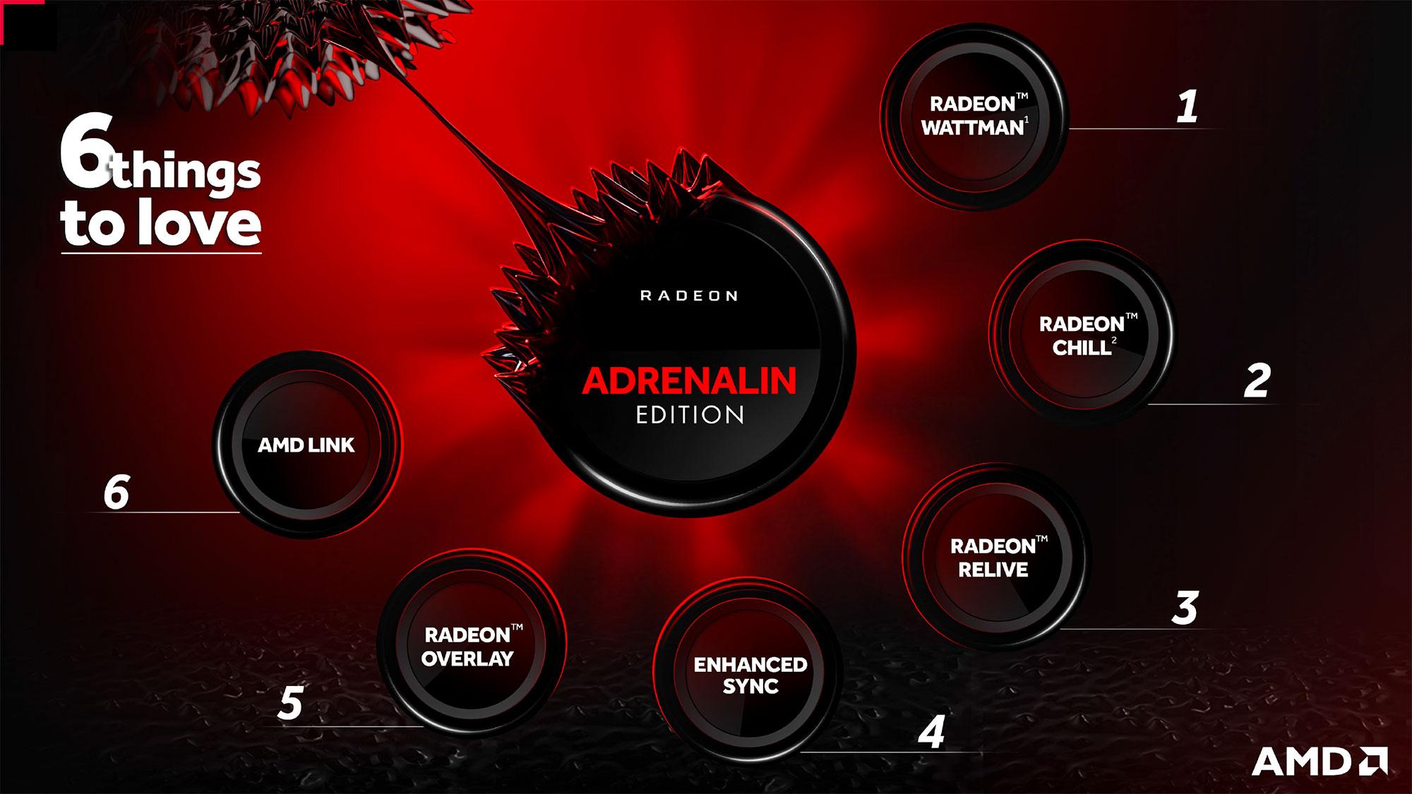 AMD Radeon Adrenalin Edition windows
