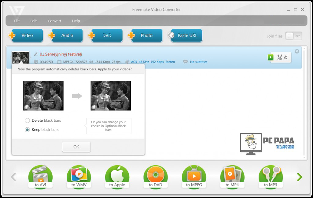 Freemake Video Converter Gold windows