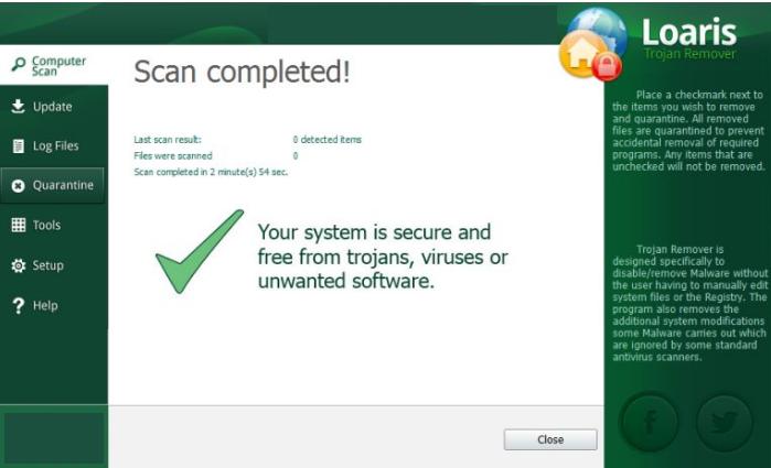 Loaris Trojan Remover windows
