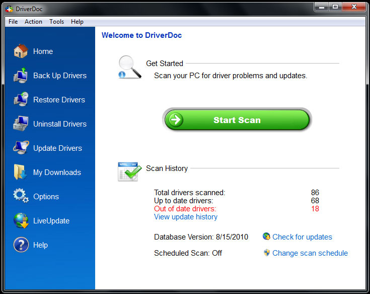 DriverDoc windows