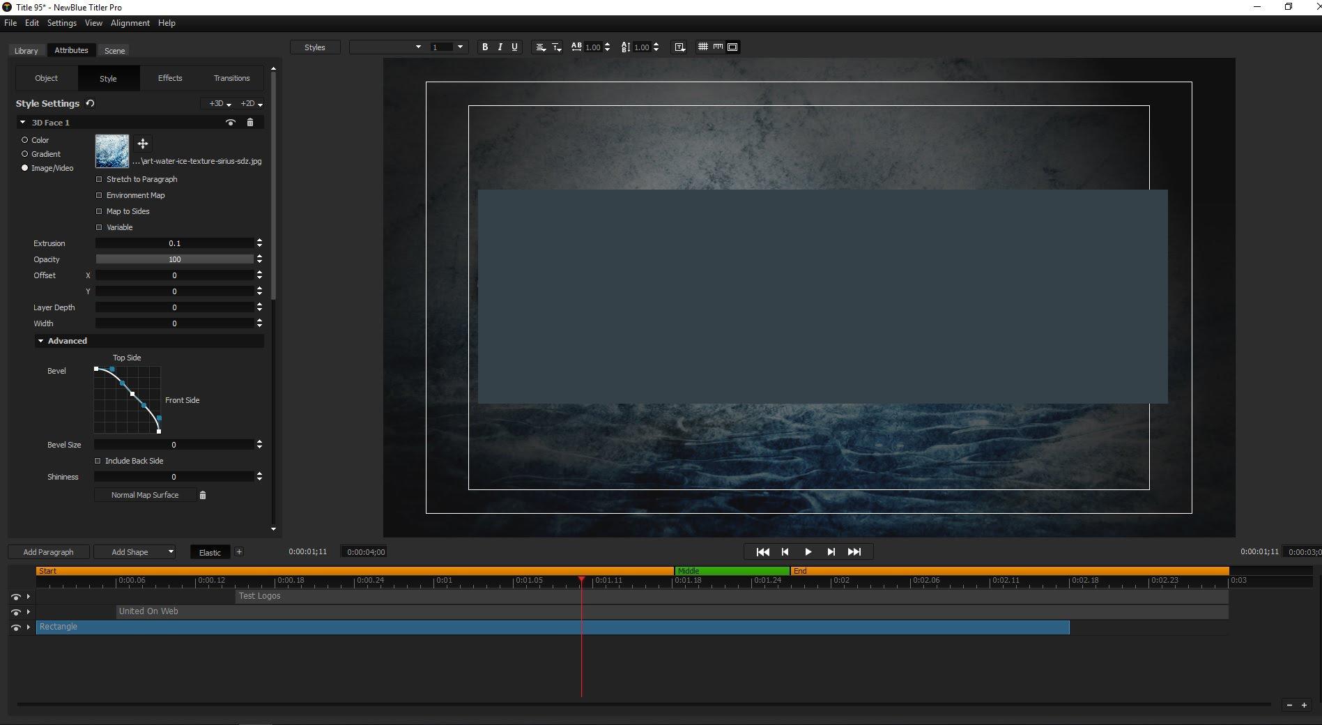 NewBlueFX Titler Pro windows