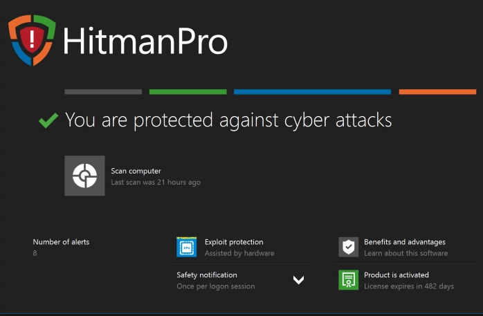 HitmanPro windows