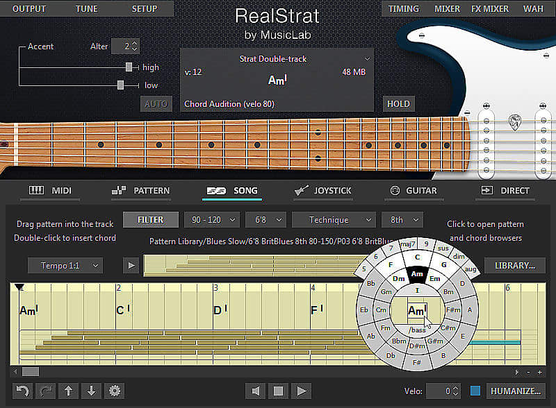 MusicLab RealStrat windows