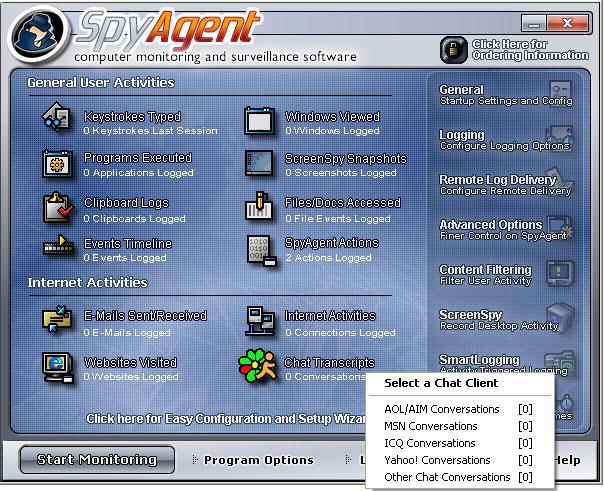 Spytech SpyAgent windows