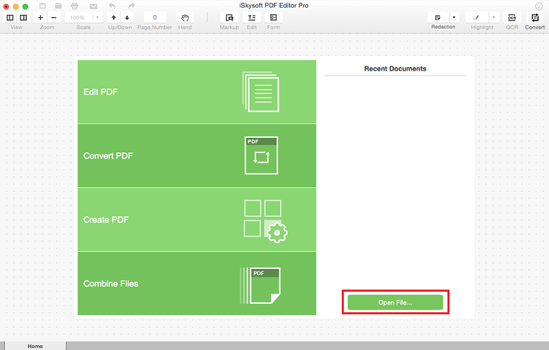 iSkysoft PDF Editor Professional windows