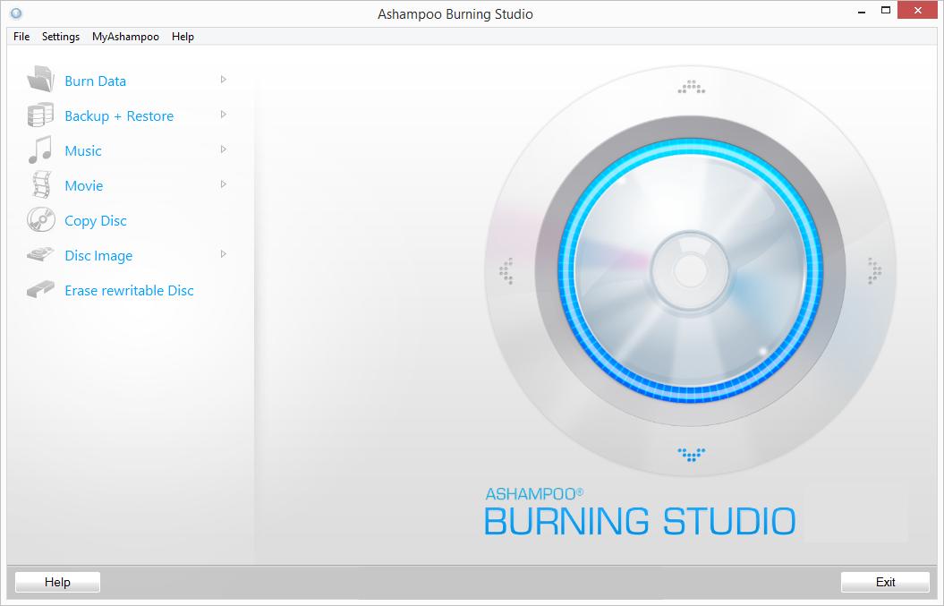 Ashampoo Burning Studio windows
