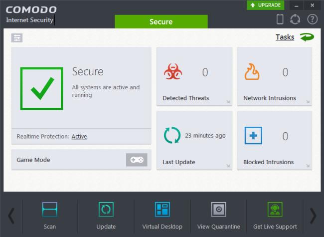 Comodo Internet Security Pro windows