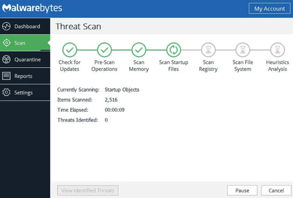 Malwarebytes Anti-malware windows