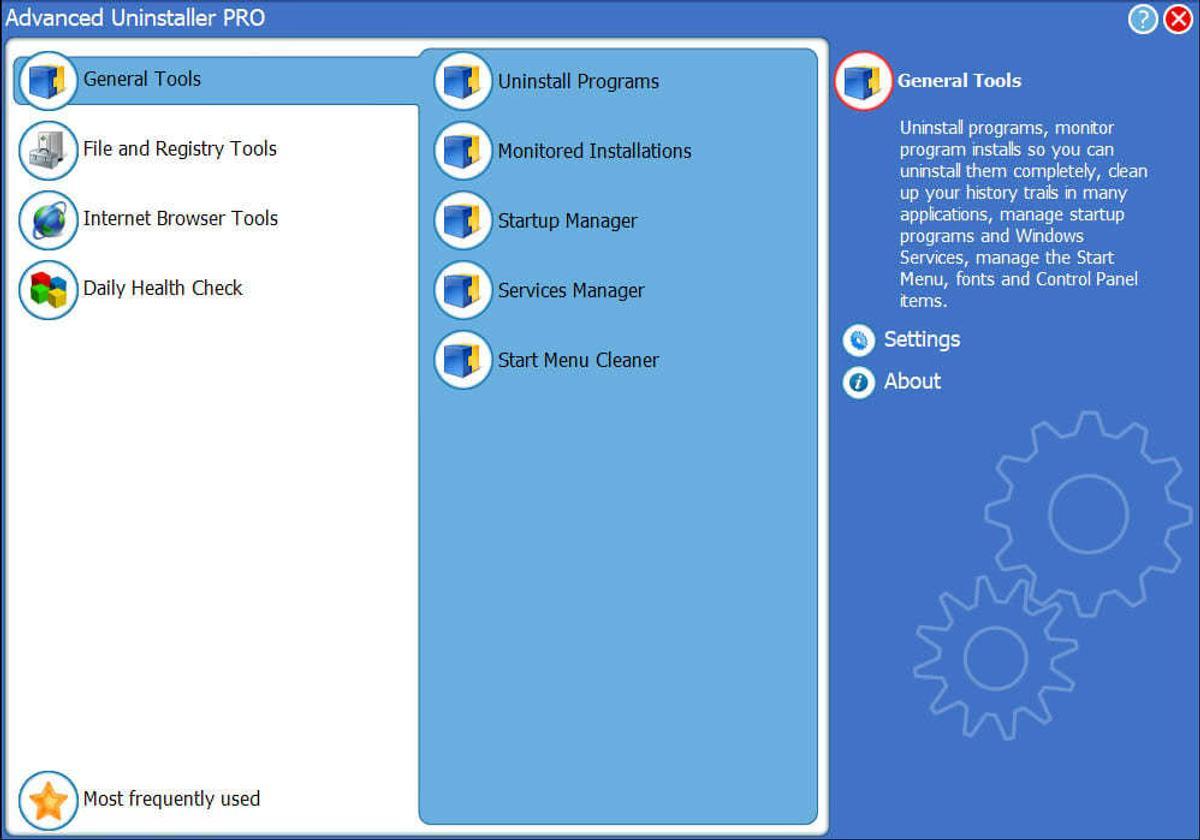Advanced Uninstaller PRO windows