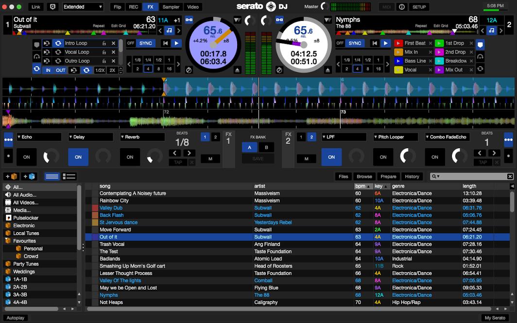Serato DJ Pro windows