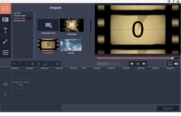 Movavi Slideshow Maker windows