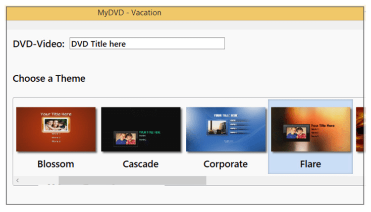 Roxio MyDVD windows