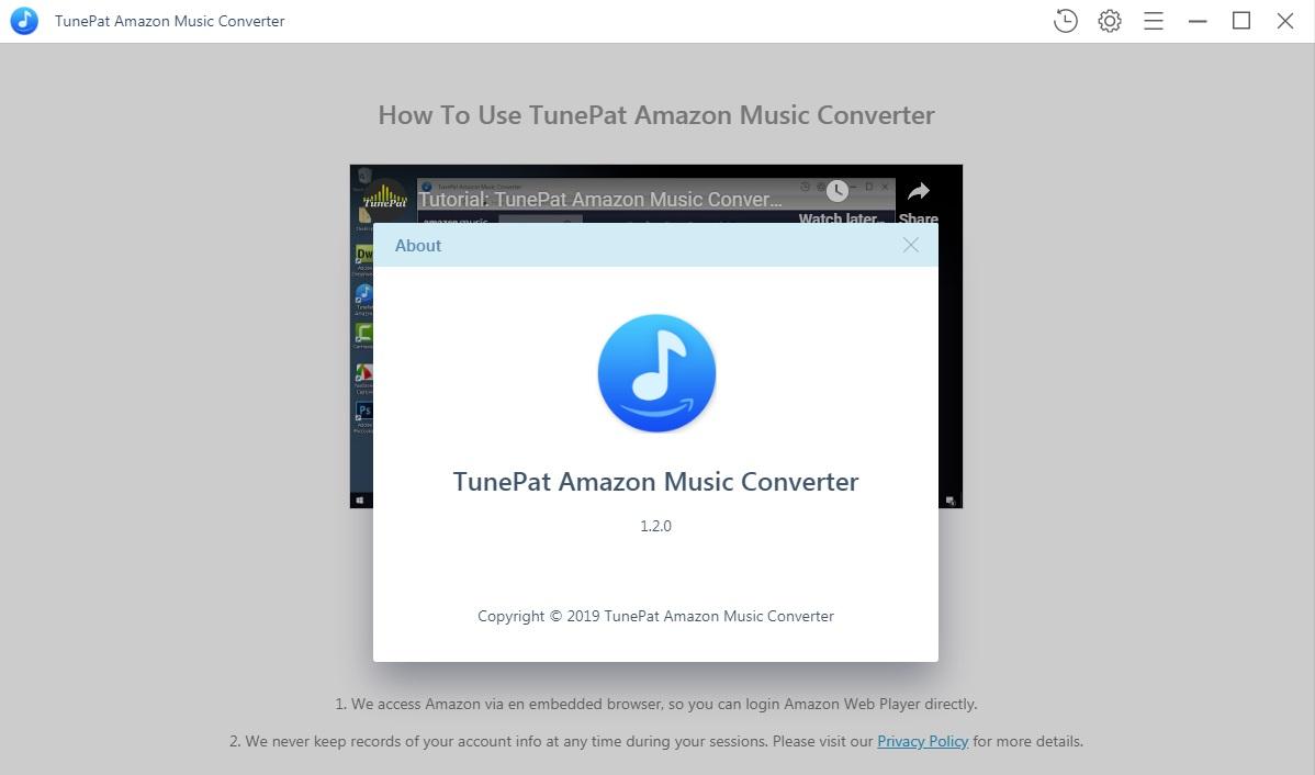 TunePat Amazon Music Converter windows