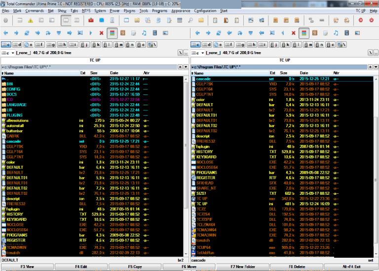 Total Commander Ultima Prime windows